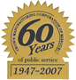 60 years of public service