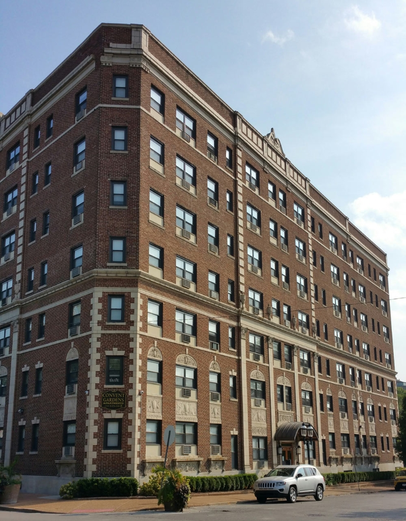 historic replacement aluminum windows apartment building