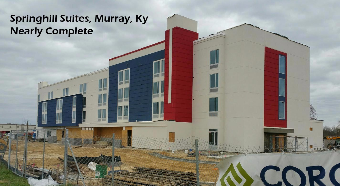 Springhill Suites Murray Kentucky Crown Window